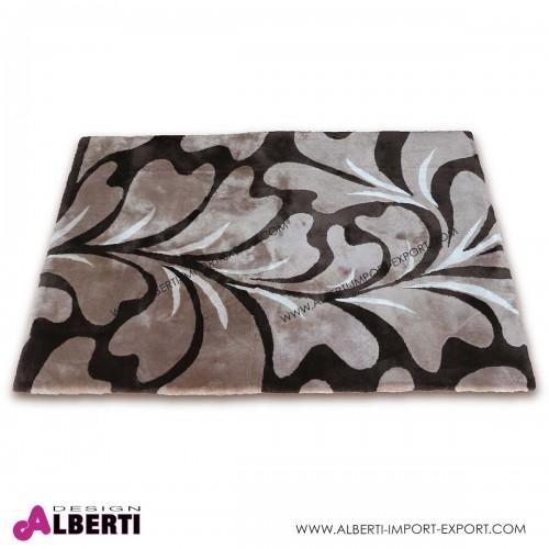 Tappeto pecora rasata con disegno floreale 240x170 cm