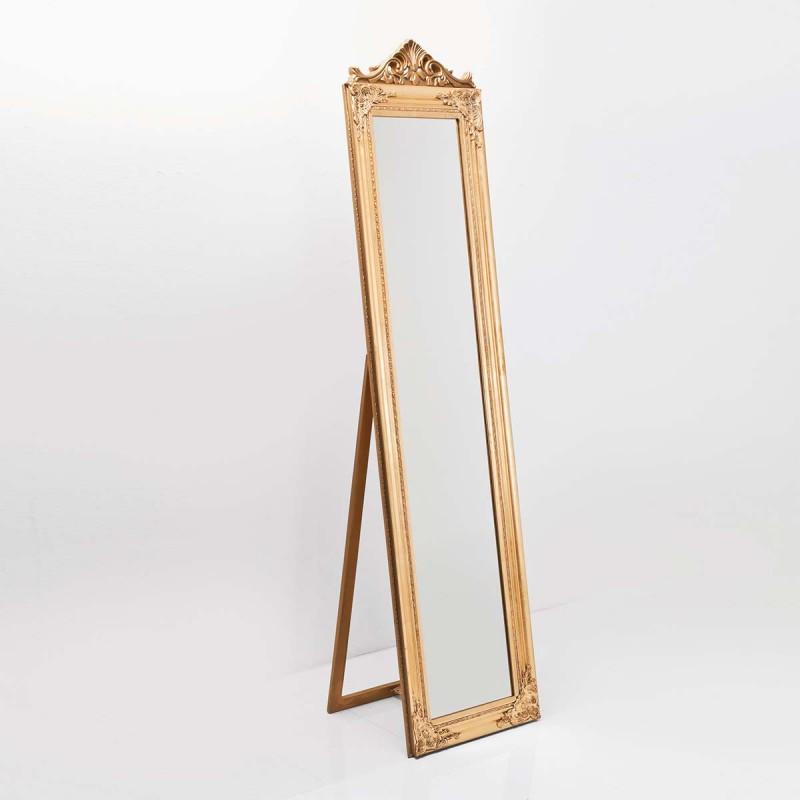 962 KA70133_a Specchio stelo Barock oro 180x45x40