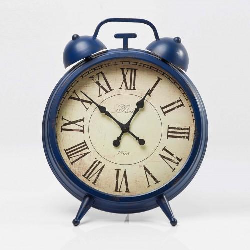 Orologio da Tavolo Parigi blu H 86x70x41