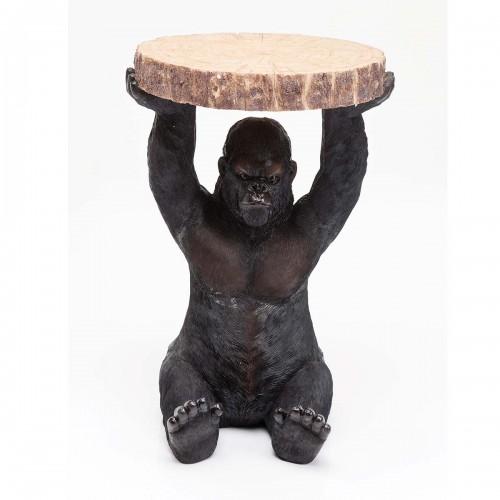 Tavolino d'appoggio rotondo Gorilla H 53 Ø 37 cm