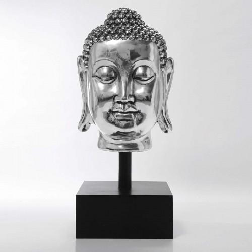 Testa BUDDHA XL silver 129x60x56