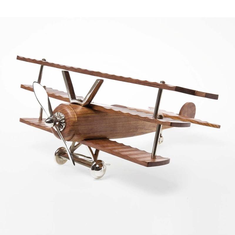 962 KA30609_a Aereo Deco Fokker  legno 22x48x52