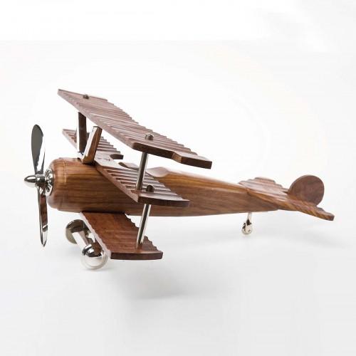 962 KA30609_b Aereo Deco Fokker  legno 22x48x52