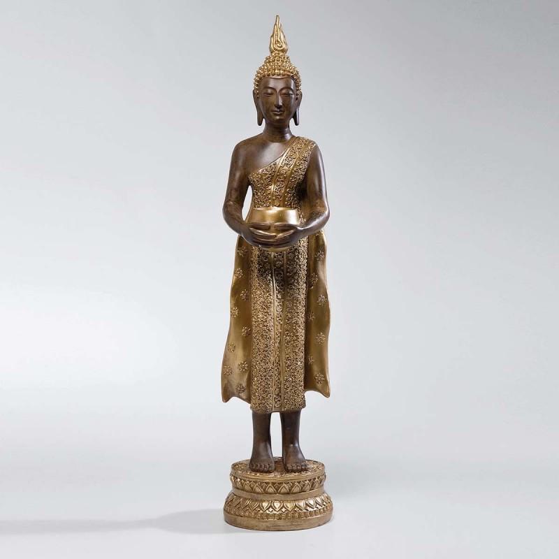 962 KA32854_a Cand. Buddha in piedi 0ro 80cm