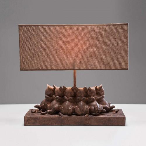 Lampada da Tavolo Cats 33x35,5x14