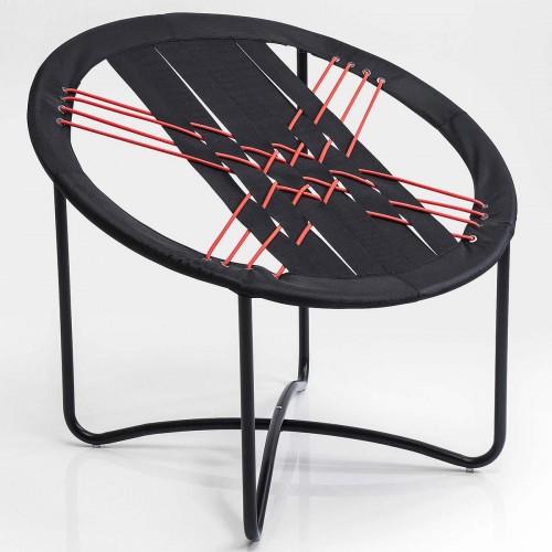 Sedia elastica Bungee 68x77x69cm nero rosso