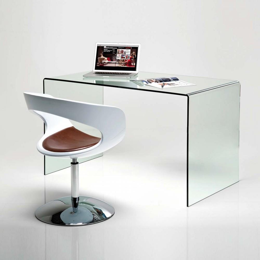 Clear club scrivania 125x60x78cm for Scrivania design outlet