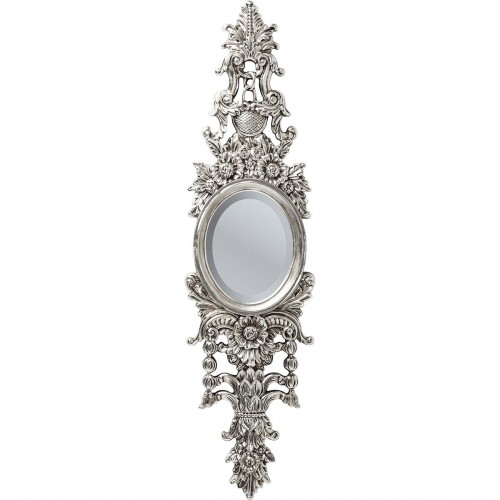 Specchio argento barocco Palais H 105x28x5cm