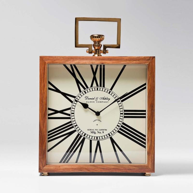 Orologio Legno 45x33x12cm