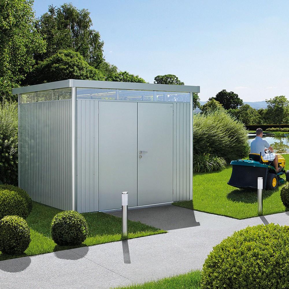 Casette design giardino in metallo con garanzia 20 anni - Casetta giardino ...
