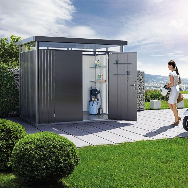 Casette design giardino in metallo con garanzia 20 anni - Casette da giardino moderne ...