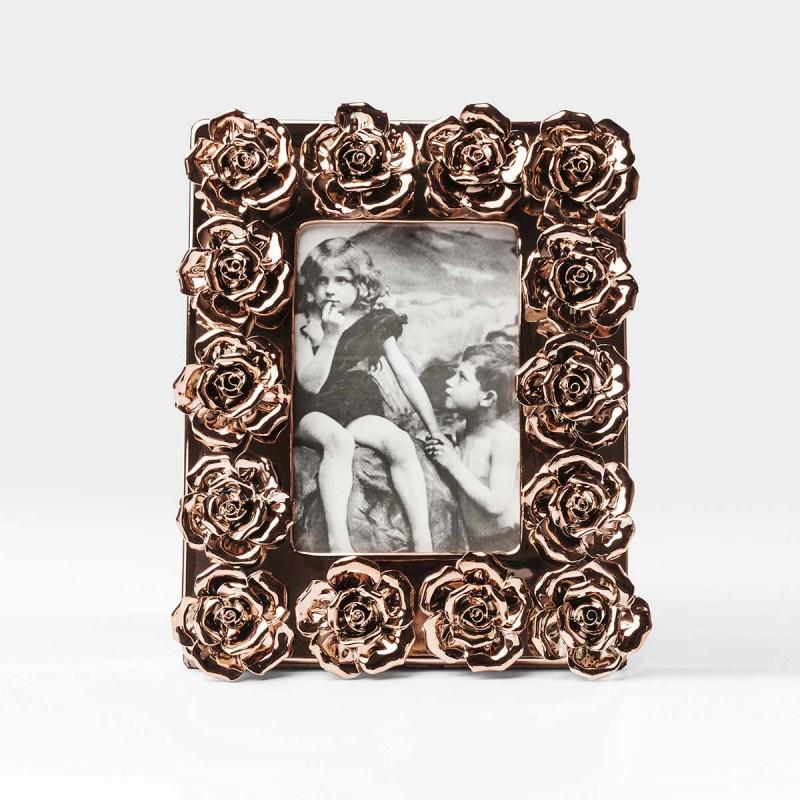 962 KA39534_a Cornice rosa oro 20x25cm