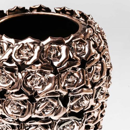962 KA39533_b Vaso Rose Multi oro d21,5x45cm