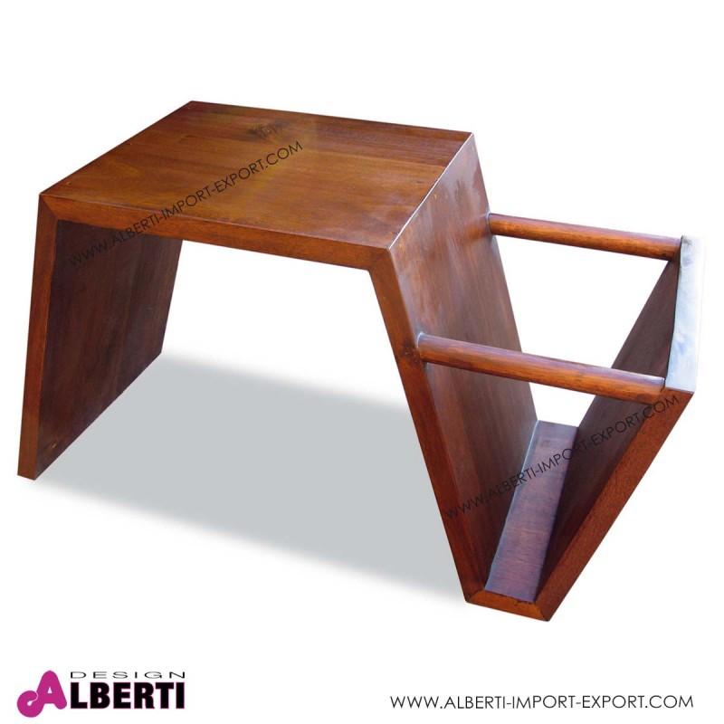Tavolino Oslo Acacia 74x40x45