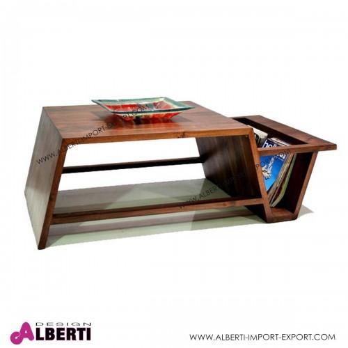 Tavolino OSLO da salotto in acacia 120x60