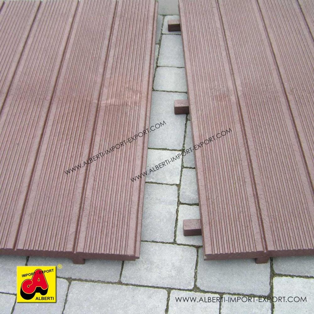 Pedane pre assemblate in pvc riciclato alberti design for Passatoie per scale legno