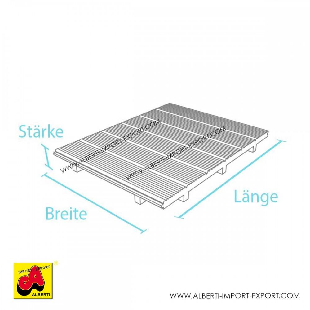 Pedane pre-assemblate in PVC riciclato - Alberti Design