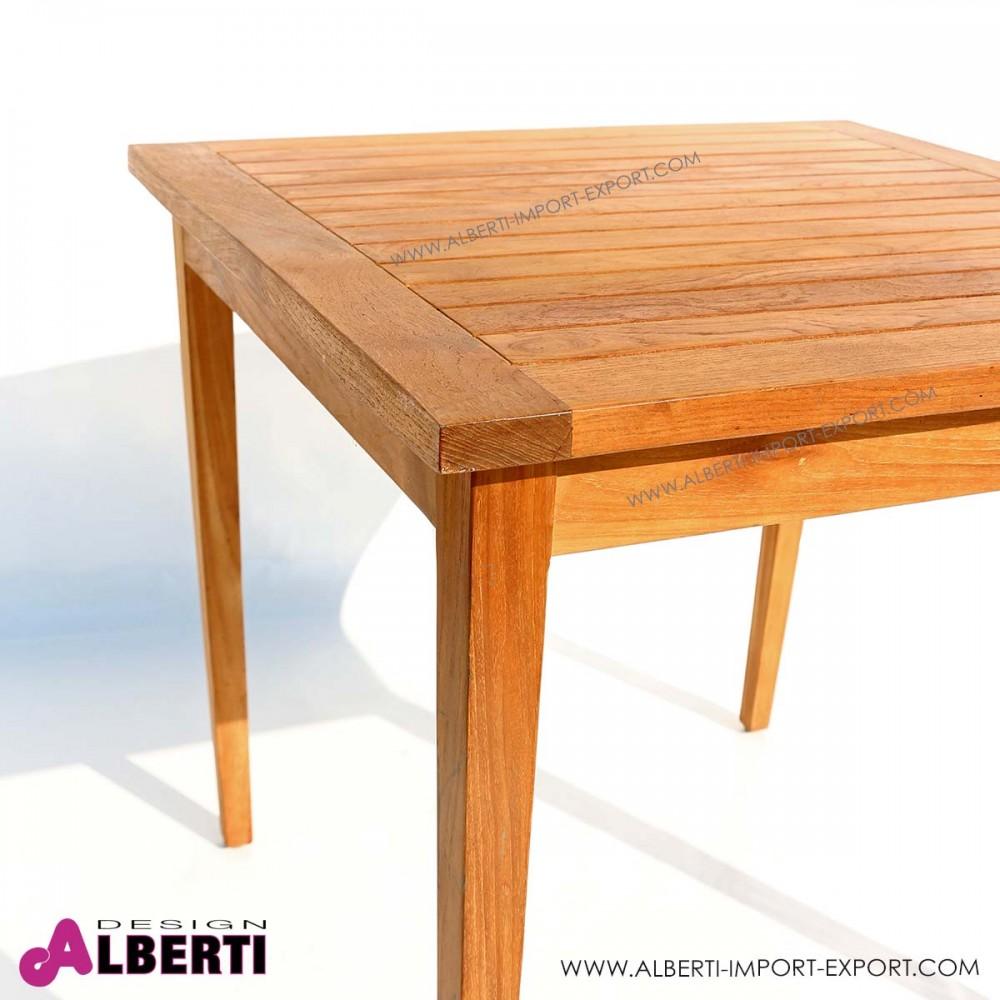 Tavolo quadrato 80x80x74h