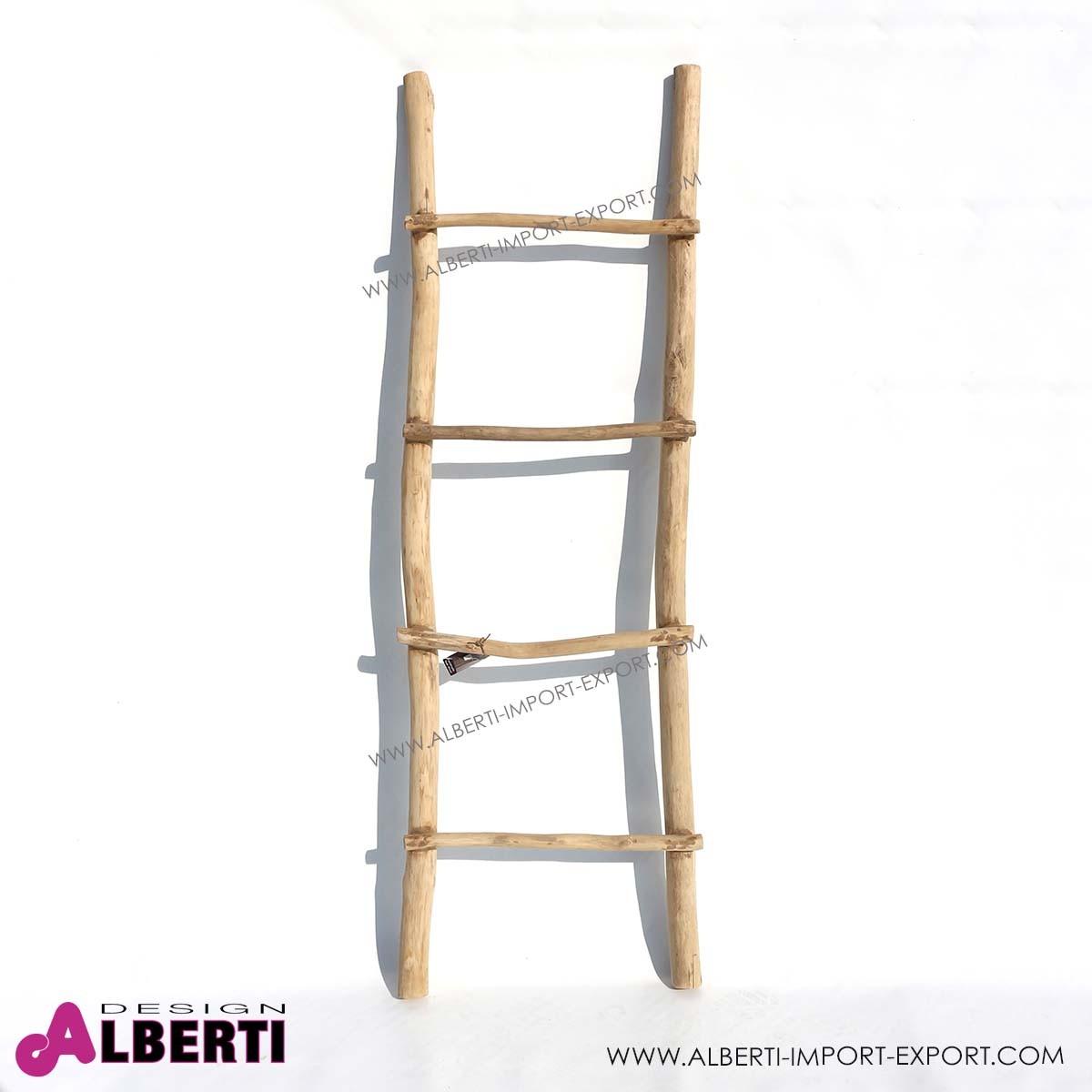 Porta Asciugamani In Legno.Scala Teak Portaasciugamani 150cm