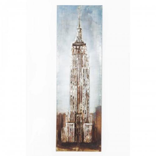 962 KA39156_a Quadro in ferro Empire State Building 56x180