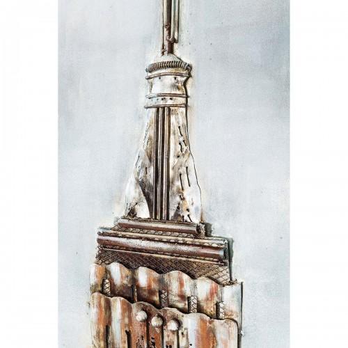962 KA39156_b Quadro in ferro Empire State Building 56x180