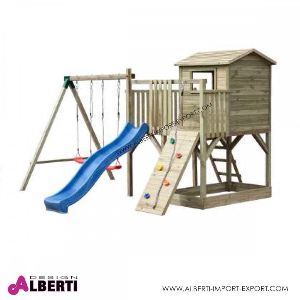 Scivoli bimbi da giardino finest area giochi per bambini for Scivolo da giardino usato