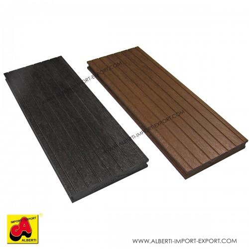 Asse pavimento per esterno in plastica riciclata 2,8x19,5 cm