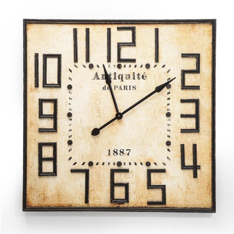 962 KA37257_a Orologio grande da muro Antiquite Paris vintage 91x91