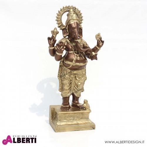 Ganesh in vetro resina H68cm