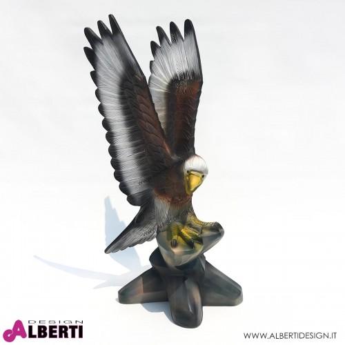 Aquila in vetroresina 90cm