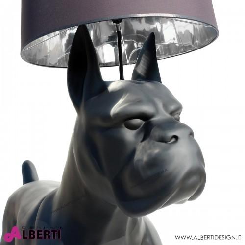 963 C198XLNER^L+I_b Cane nero con lampada190x76x205cm+imballo