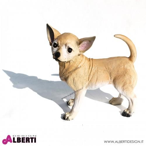 Chihuahua H34 cm in vetroresina