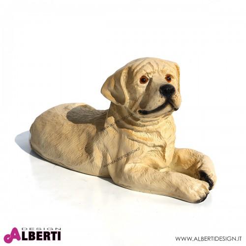 Labrador in vetroresina H20 cm