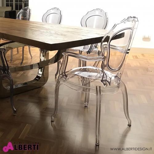 Poltrone In Plastica Stile Barocco.Outlet Mobili Barocco Alberti Design