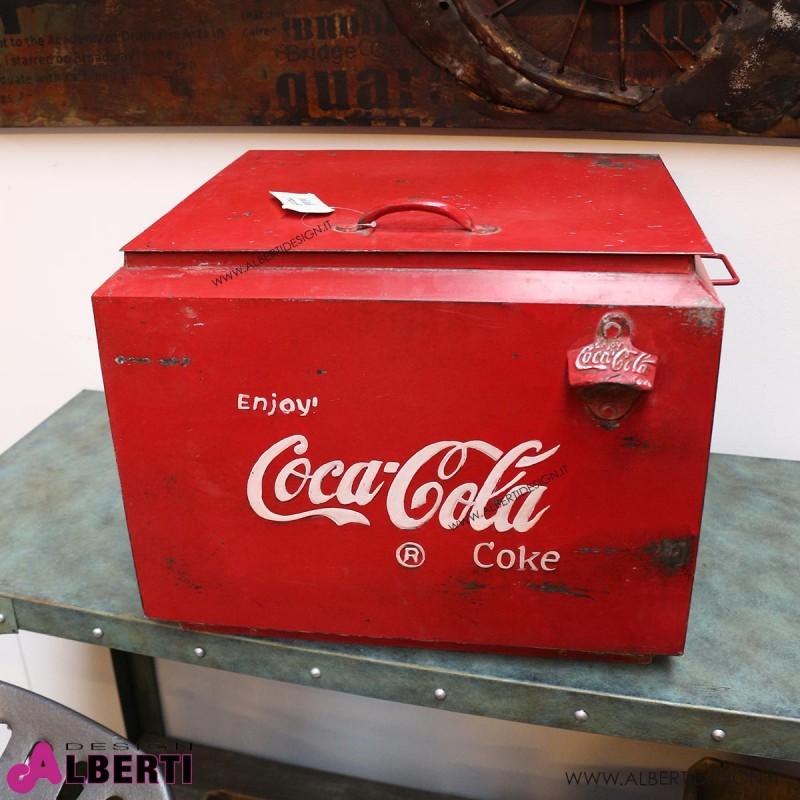 962 HK109541_a Ghiacciaia Coca Cola 46x41x40 cm HK0017