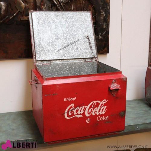 962 HK109541_b Ghiacciaia Coca Cola 46x41x40 cm HK0017