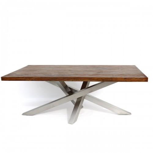 962 MA3034_a Base tavolo inox satinato        182x82xh72 cm