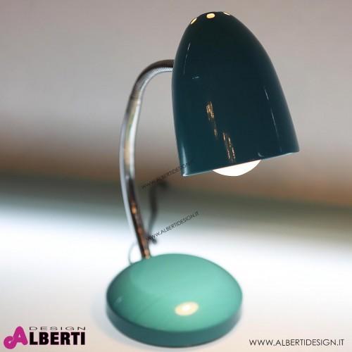 962 AU500165_b Lampada da tavolo E27 azzurro