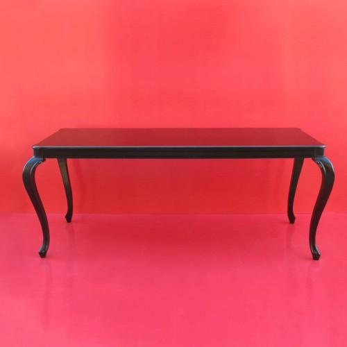 Tavolo barocco FLORENZ black 200cm