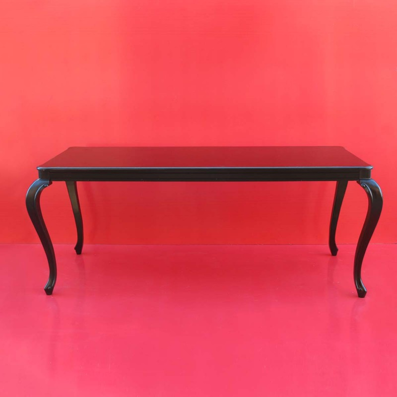 962 BATAVFB_a Tav.FLORENZ 200x90x82 black+vetro