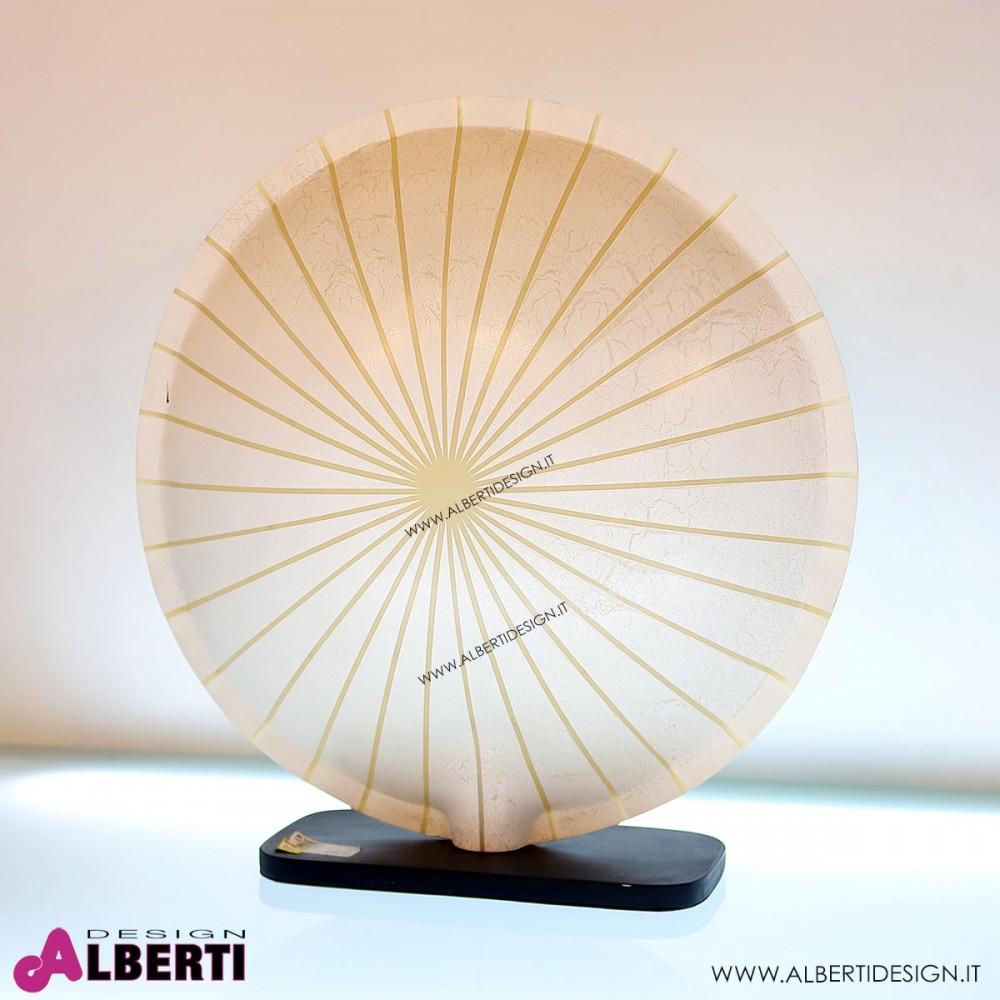 Lampada Rotonda Da Tavolo Bianca Atmosfeer 60cm Putih