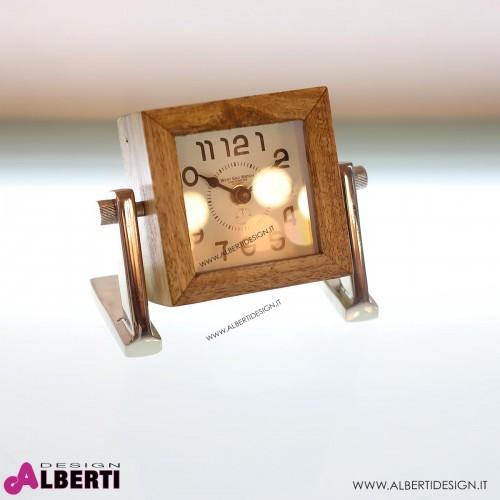 962 KA39735_a Orologio tavolo CubeSmall15x12x16