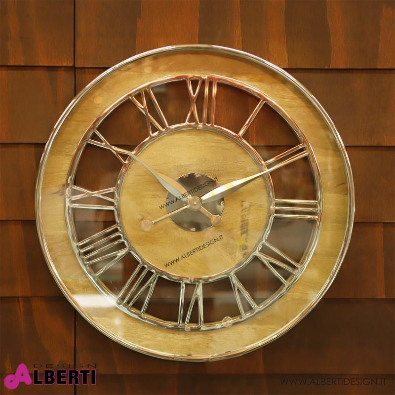 Orologio rotondo num.romani d60x6