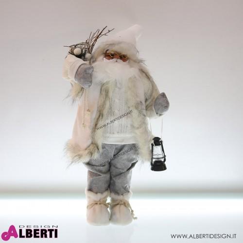 Babbo Natale 80 cm bianco