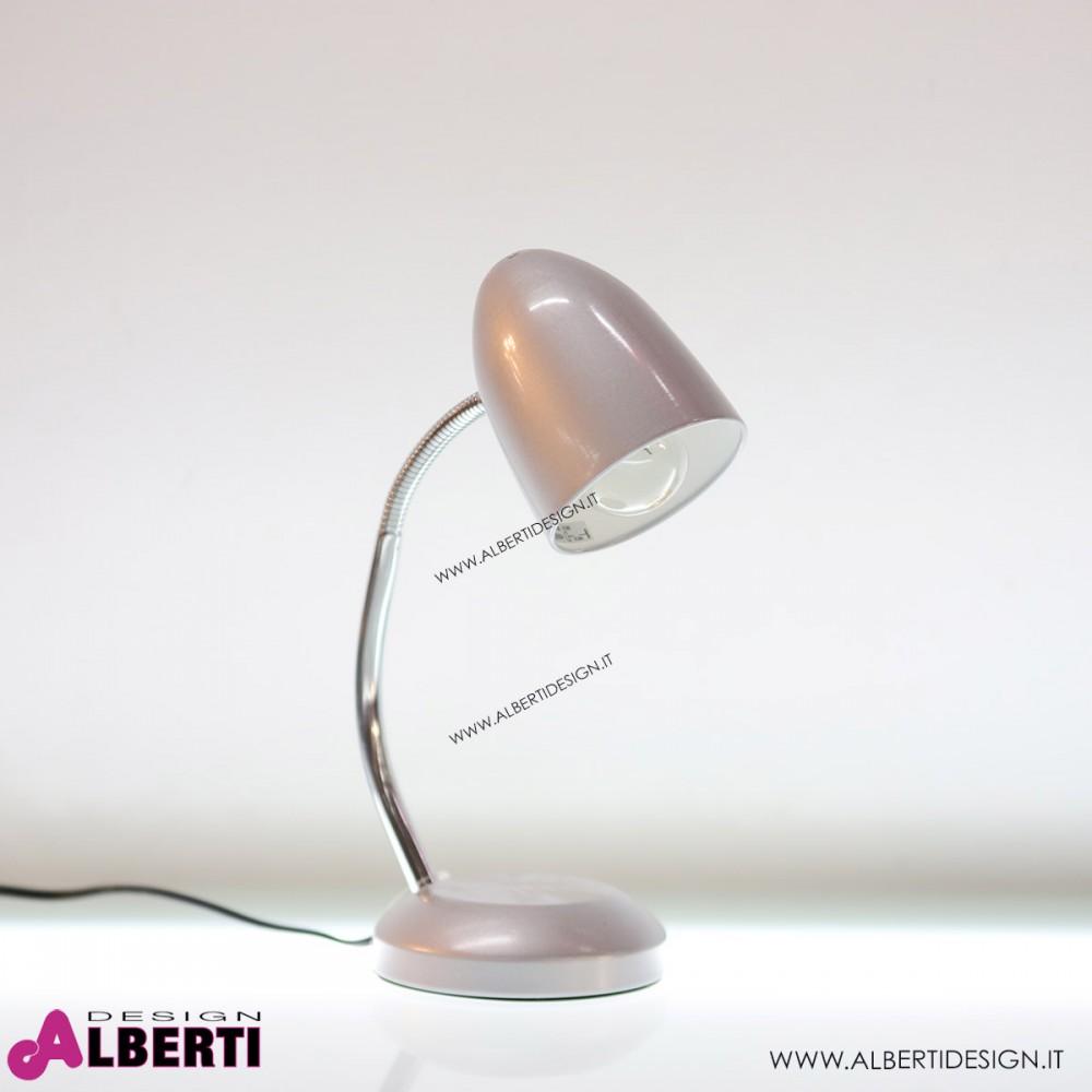 Lampada Da Tavolo E27 Argento