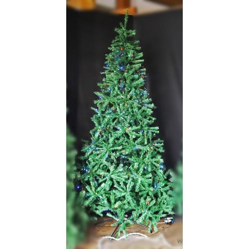Albero di Natale in pvc Valsavarenc H240 cm
