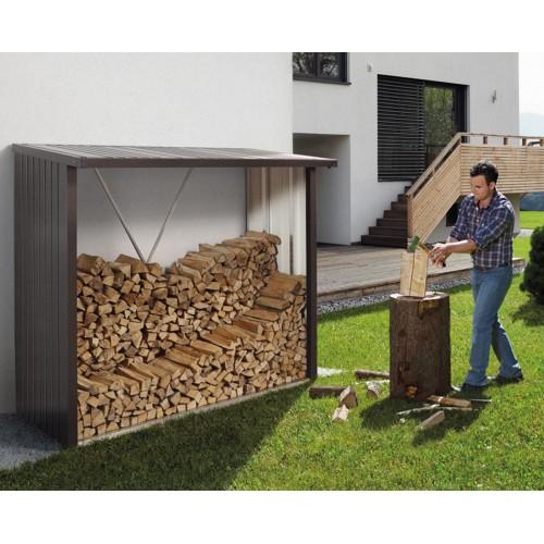 Legnaia WOODSTOCK perfetta per contenere la legna, disponibile in 2 misure e 3 colori