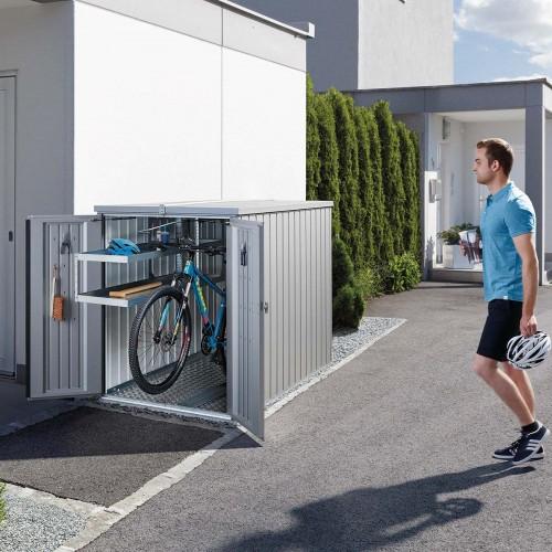 Ripostiglio MiniGarage fino a due biciclette o deposito per attrezzi