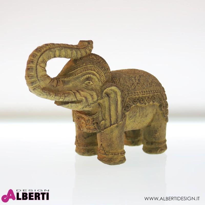 Elefante decorato in piedi 36xH27