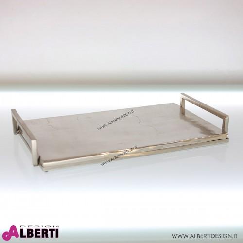 Vassoio rettangolare in alluminio79x23xH6